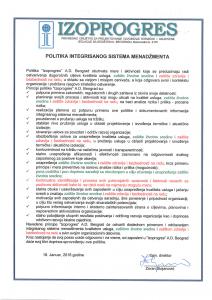 POLITIKA IMS